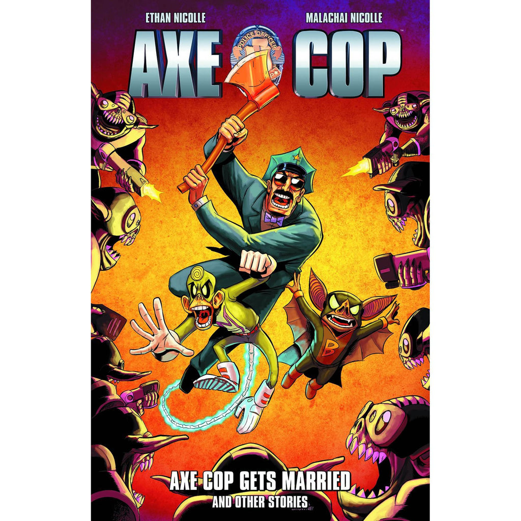 Axe Cop: Axe Cop Gets Married Vol. 5 TP