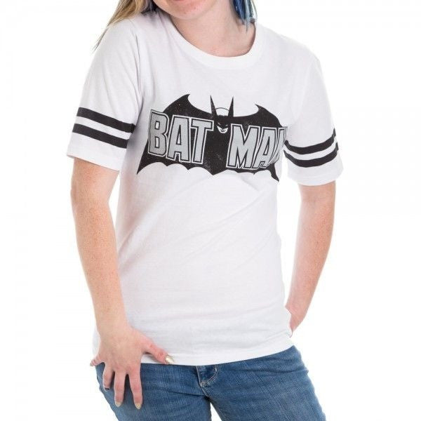 Vintage Batman Logo Junior's Hockey Shirt