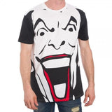 Joker Black White Men's Shirt Uncanny!