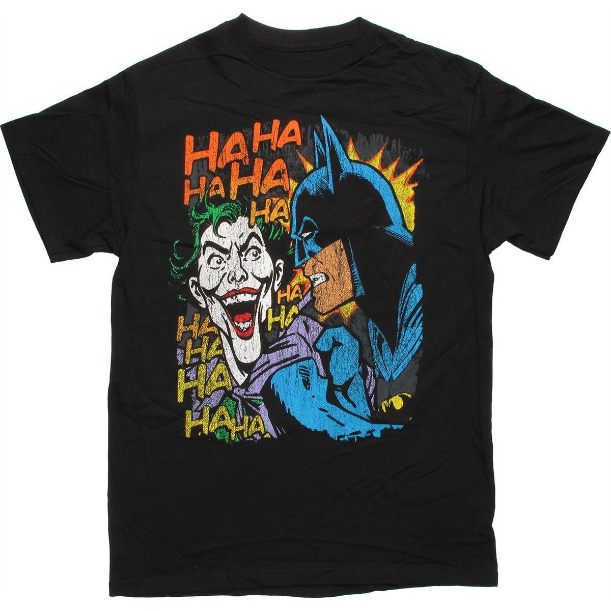 Batman Joker HAHA Shirt Uncanny!