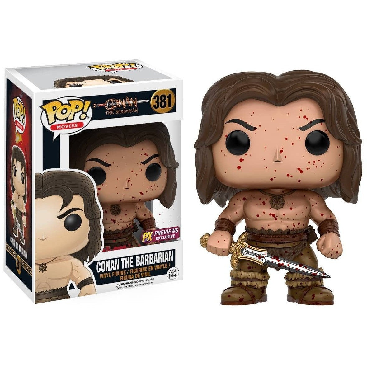 Conan the Barbarian Pop! Vinyl Figure Uncanny!