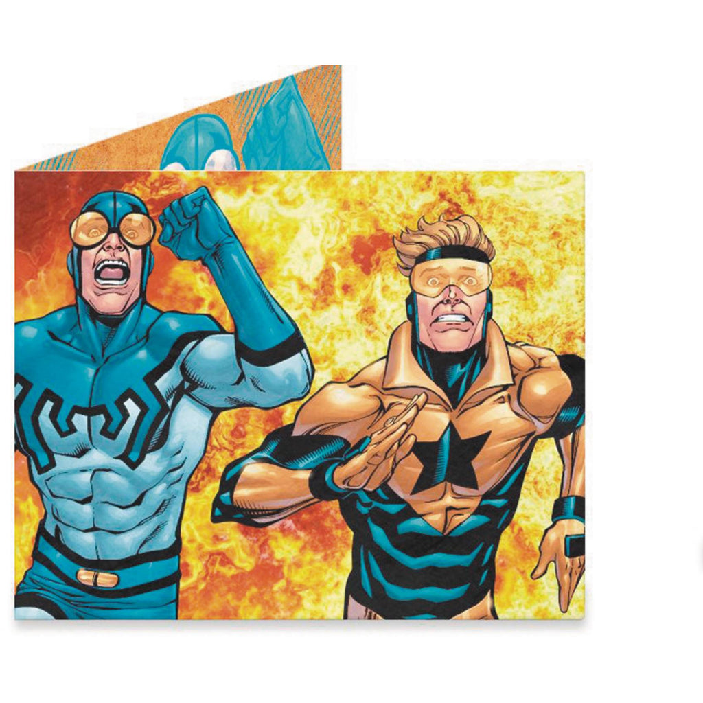 Booster Gold and Blue Beetle Wallet