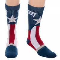 Captain America Uniform Crew Socks