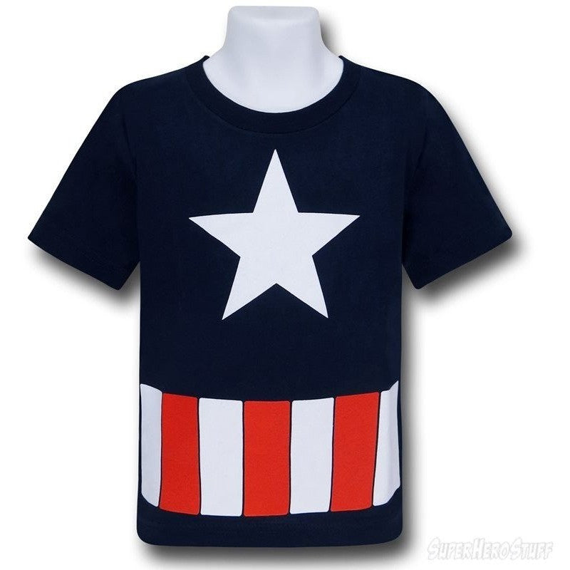 Captain America Costume Youth Shirt