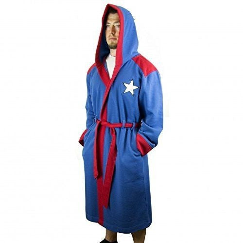 Captain America Bathrobe Uncanny!