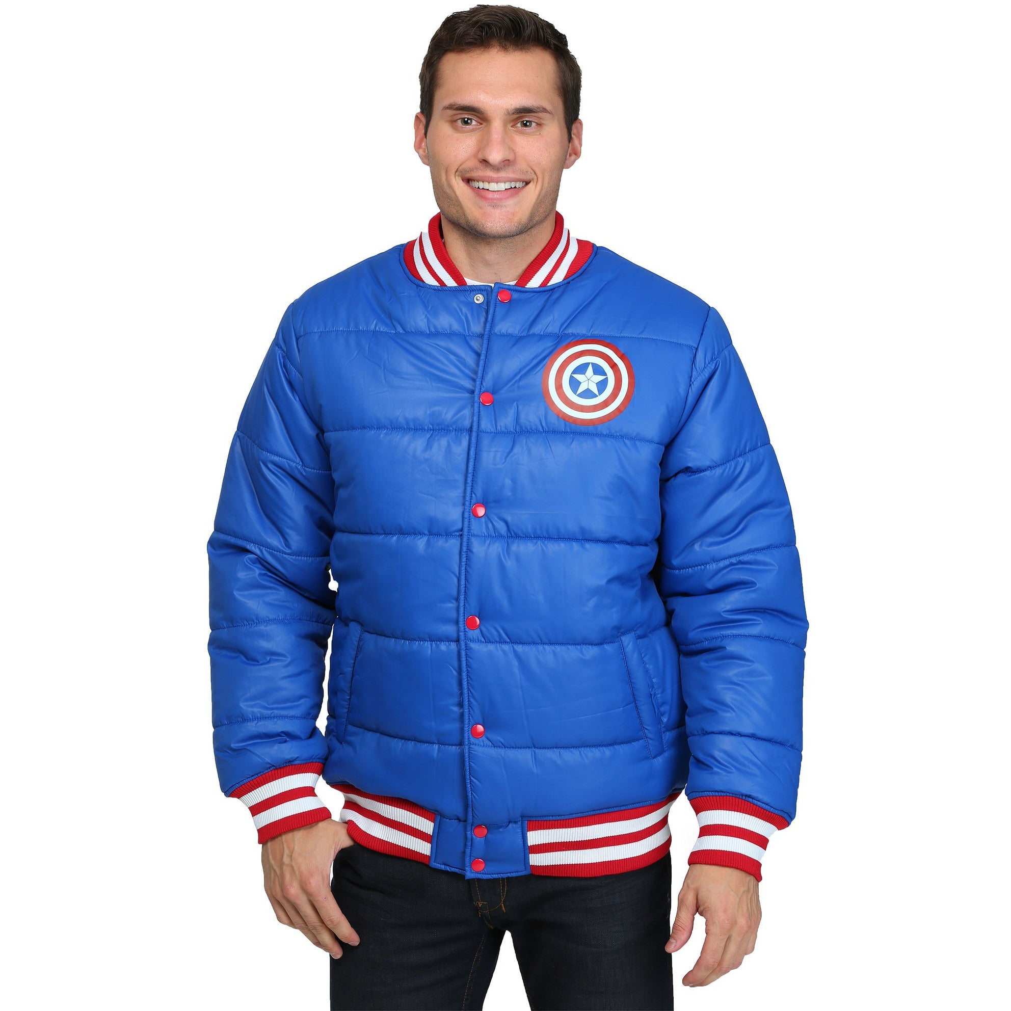 Captain America Puff Jacket Uncanny!