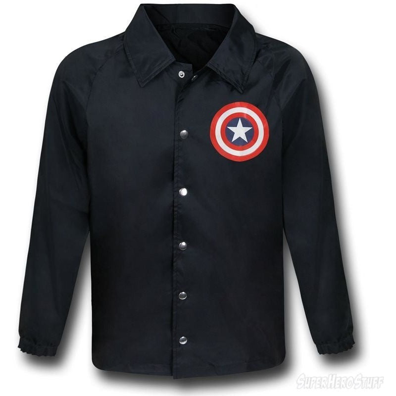 Captain America Windbreaker Jacket Uncanny!