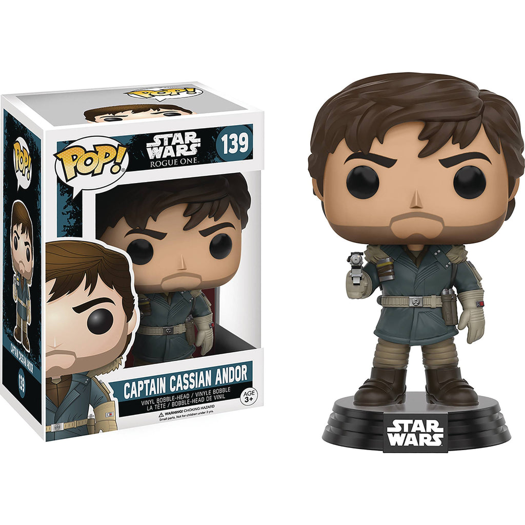 Captain Cassian Andor Pop! Vinyl Figure