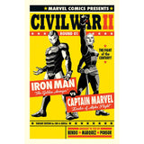 Civil War II by Michael Cho Poster Uncanny!