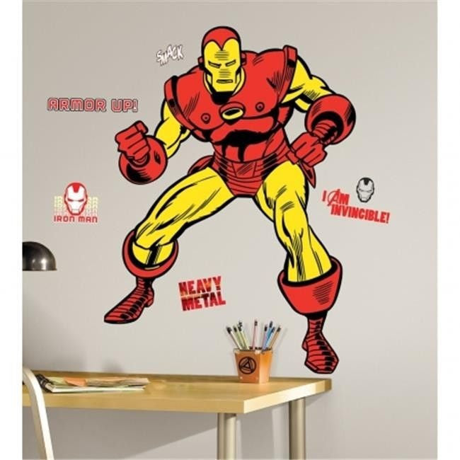 Classic Iron Man Wall Decals