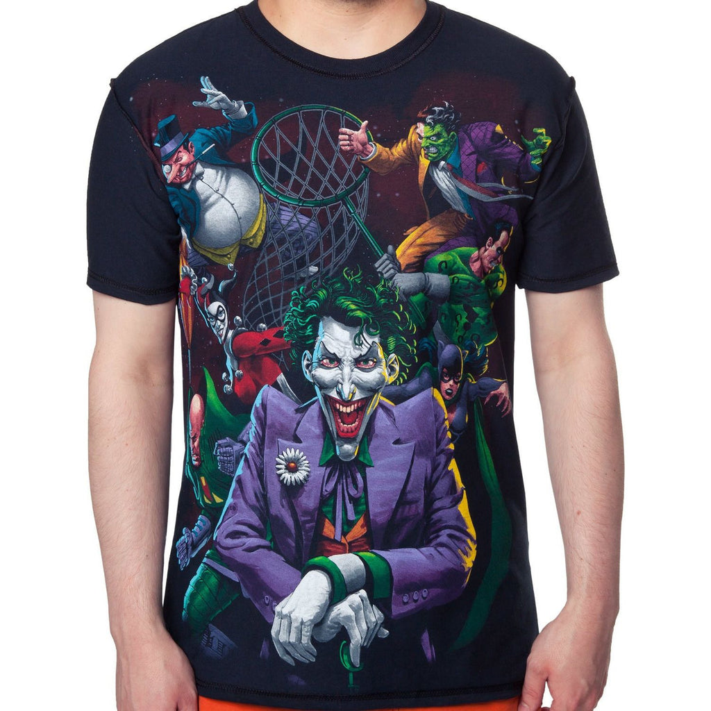 DC Villains Net Shirt
