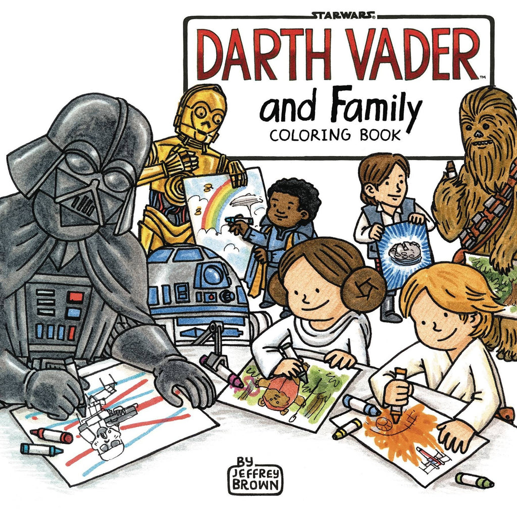 Darth Vader and Family Coloring Book TP