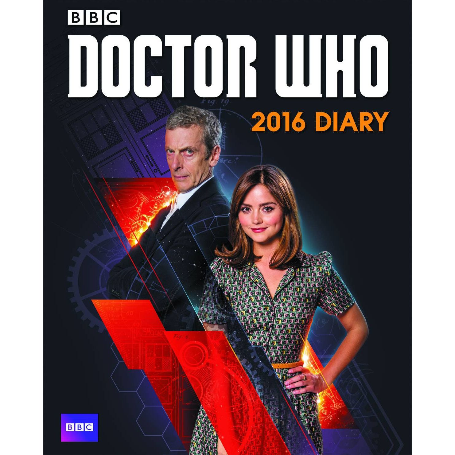Doctor Who 2016 Diary HC Uncanny!