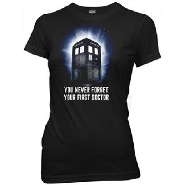 Doctor Who You Never Forget Your First Doctor Shirt Uncanny!