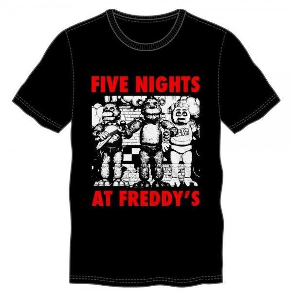 Five Nights At Freddy's Group Shirt Uncanny!