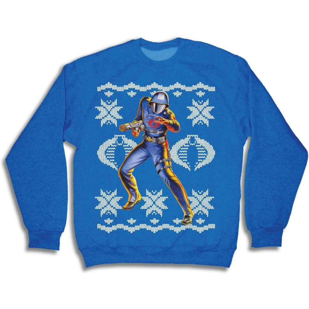 G. I. Joe Cobra Ugly Holiday Sweatshirt Uncanny!