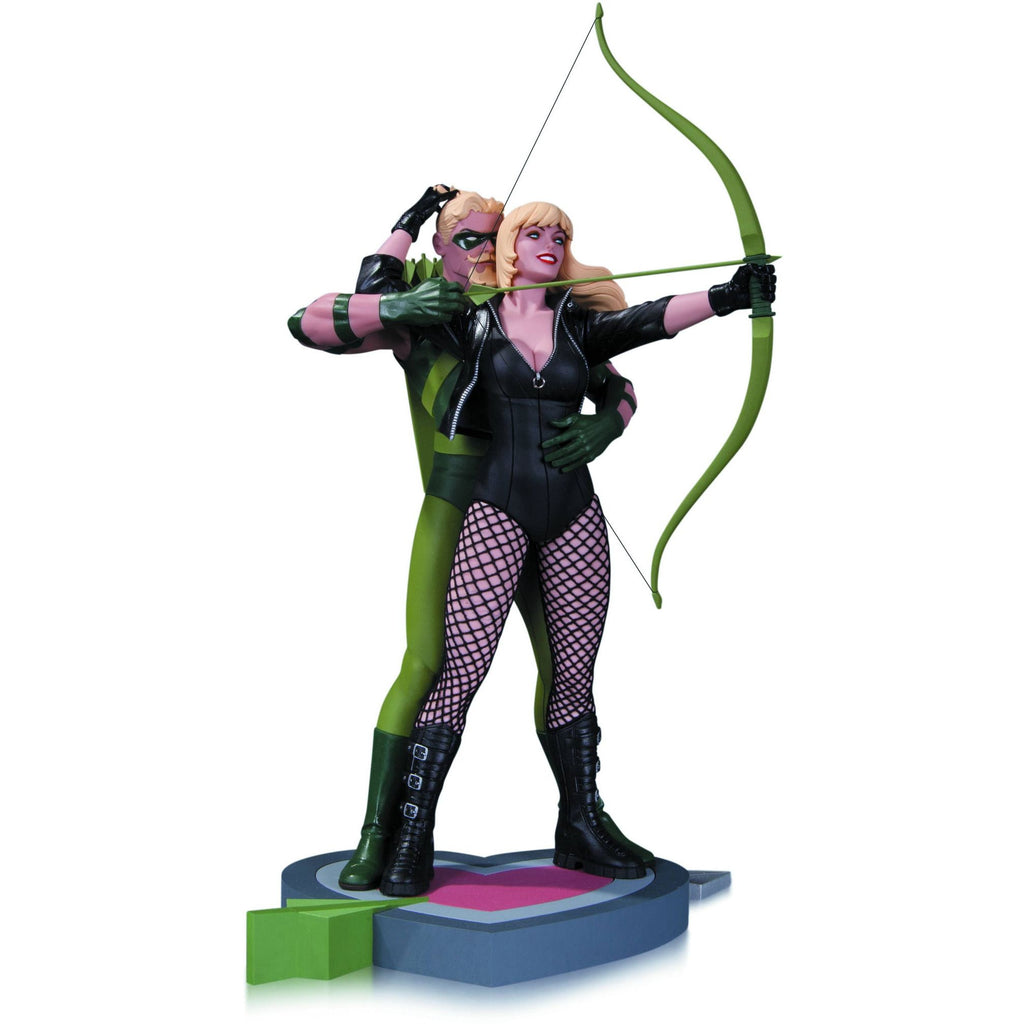 Green Arrow & Black Canary Statue