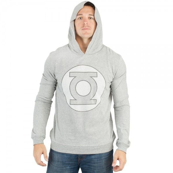 Green Lantern Hooded Grey Shirt Uncanny!