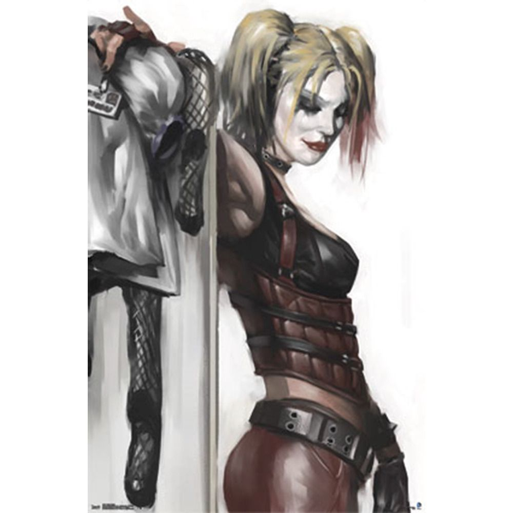 Harley Quinn Leather Poster Uncanny!