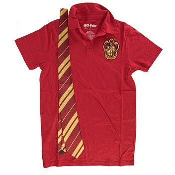 Gryffindor Red Polo w/ Tie Uncanny!