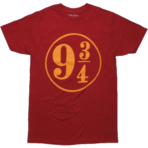 Harry Potter 9 3/4 Red Shirt