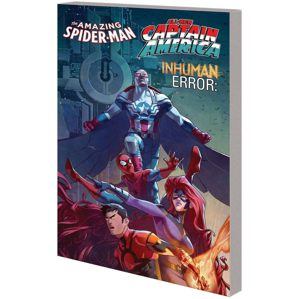 Amazing Spider-Man / Inhumans / All-New Captain America Inhuman Error TP