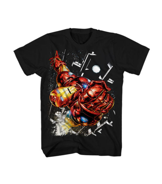 Iron Man In Space Shirt