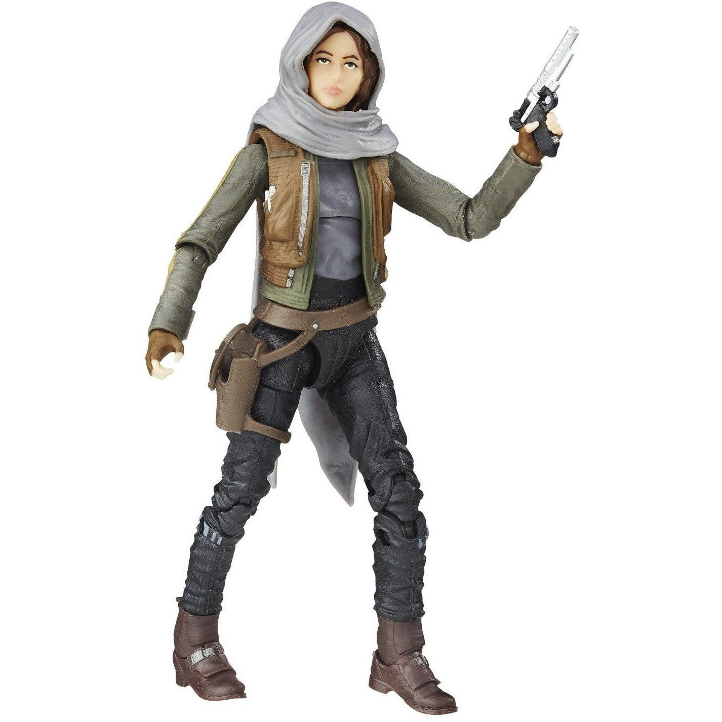 Star Wars Black Series Jyn Erso Action Figure Uncanny!
