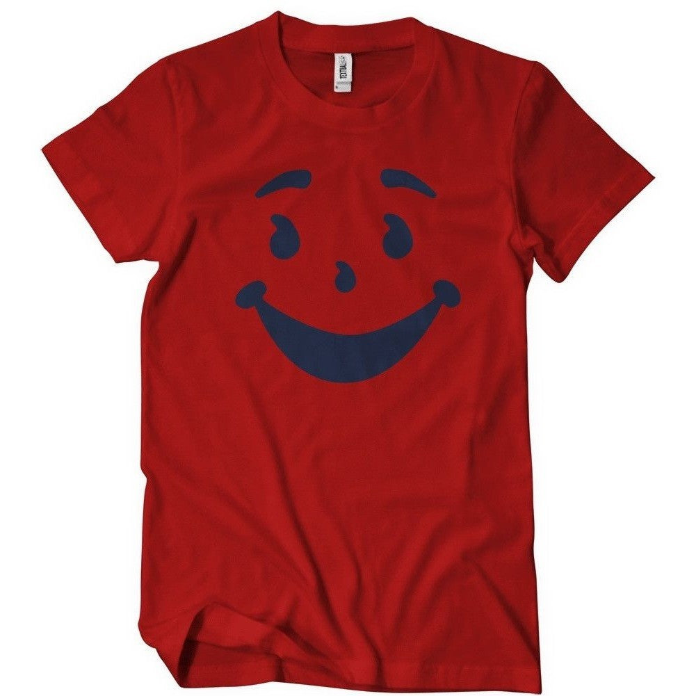 Kool-aid Face Red Shirt Uncanny!