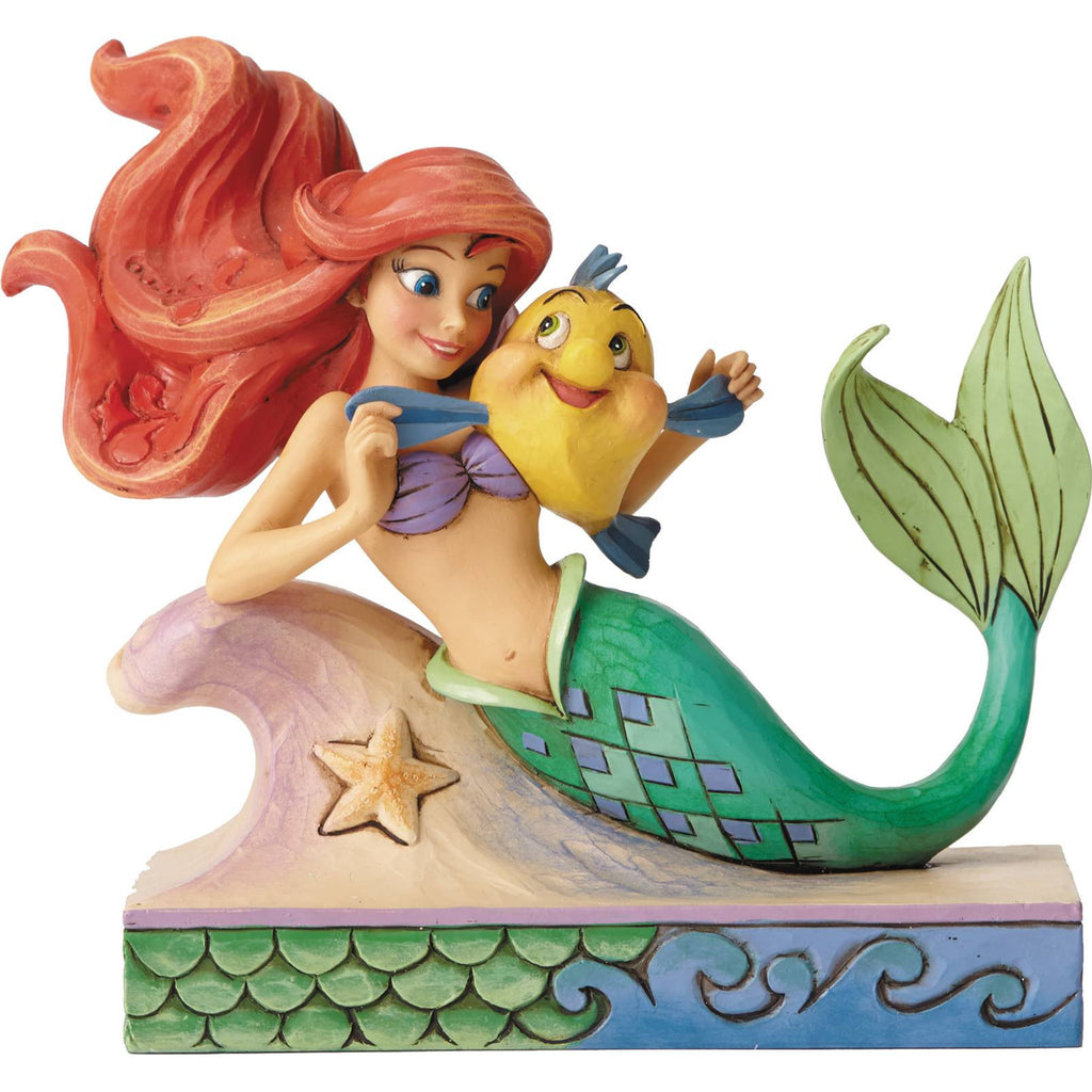 Ariel and Flounder Statue
