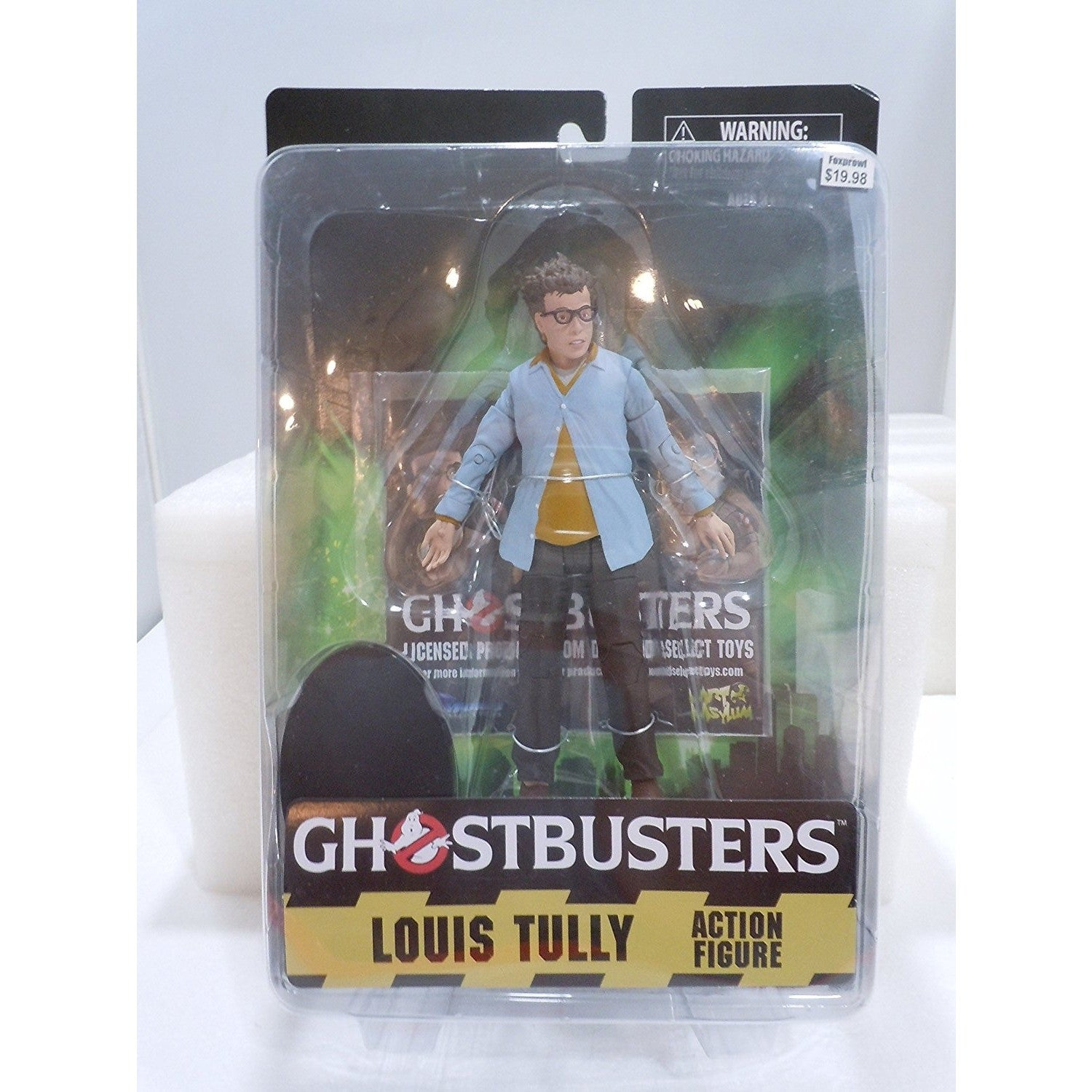 Diamond Select Ghostbusters Louis Tully 7 inch AF Uncanny!
