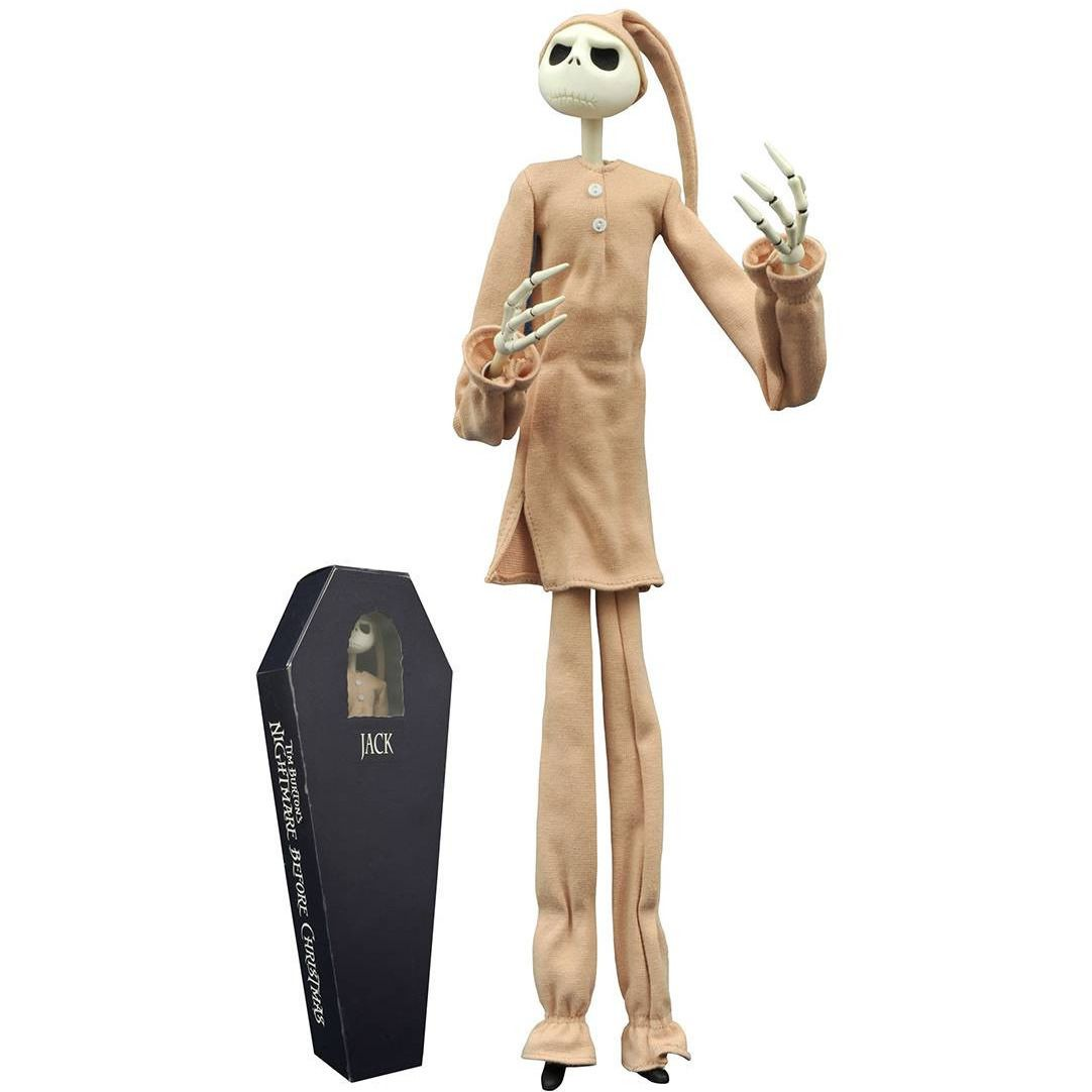 Nightmare Before Christmas: Pajama Jack Figure Uncanny!