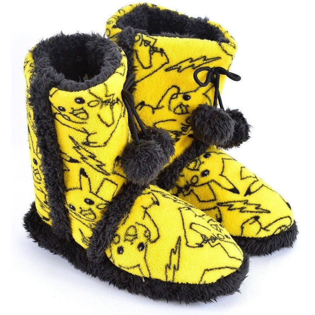 Pokemon Pikachu Boot Slippers Uncanny!