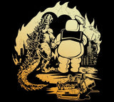 Godzilla and Stay Puft BFF Shirt