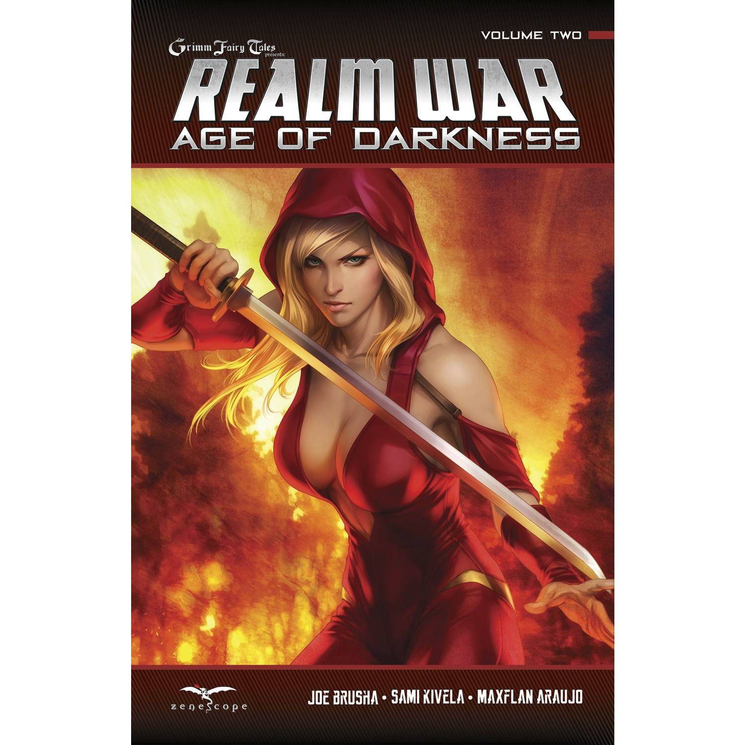 Age of Darkness Realm War Vol. 2 TP Uncanny!