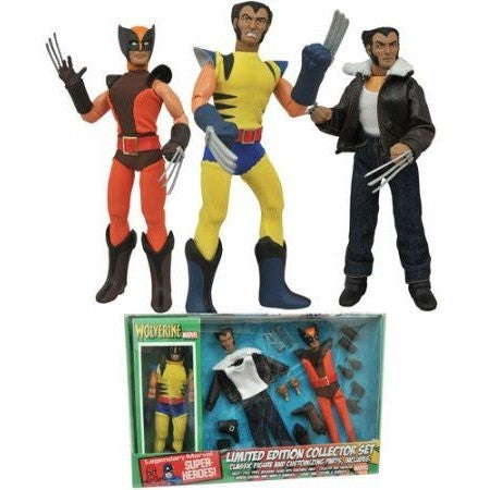 Wolverine Retro Action Figure Set Uncanny!