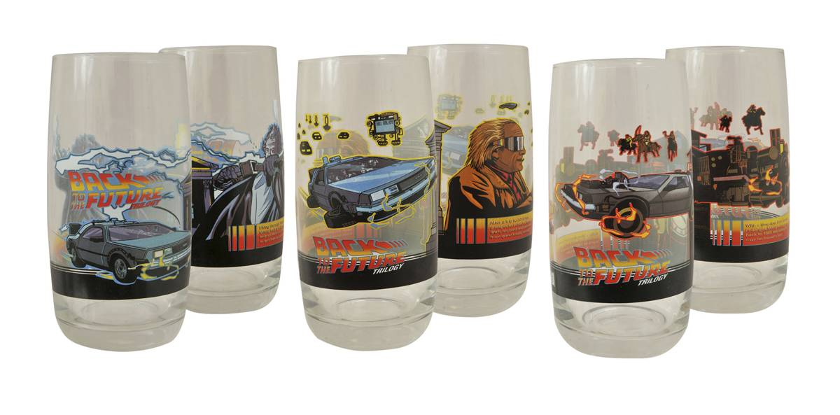 BTTF PINT GLASS
