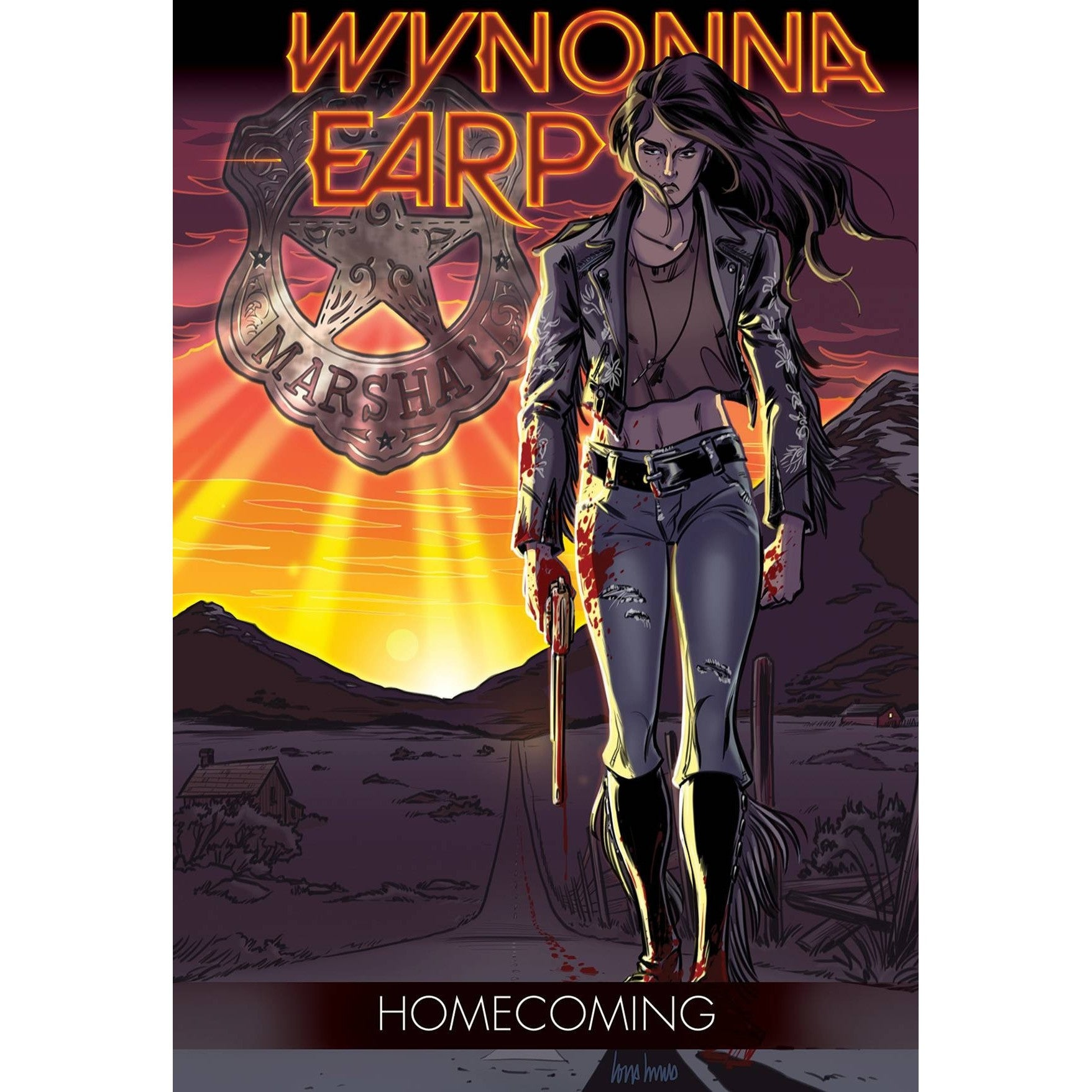 WYNONNA EARP TP VOL 01 HOMECOMING