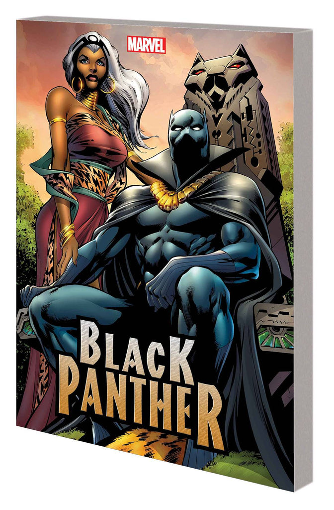 BLACK PANTHER BY HUDLIN TP VOL 03 COMPLETE COLLECTION
