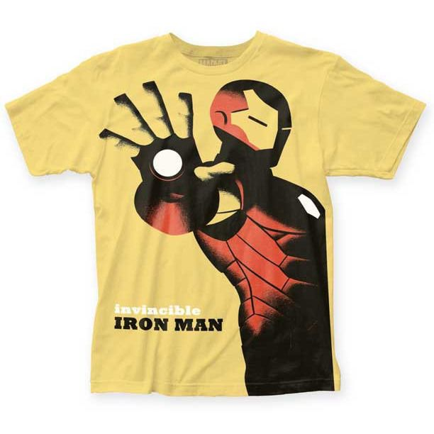 Iron Man Cho Variant Yellow Shirt Uncanny!