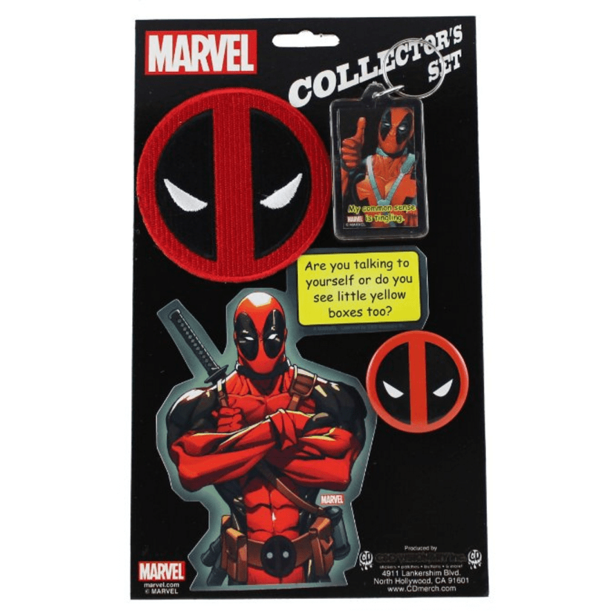 Extreme Deadpool Collector's Set Uncanny!