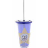 Steven Universe Cookie Cat Plastic Travel Cup with Straw Uncanny!