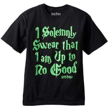 Harry Potter I Solemnly Swear Youth Shirt