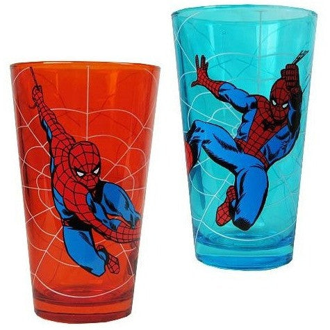 Spider-Man Web Slinger Pint Glass Set