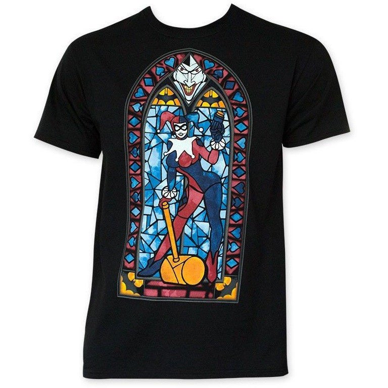 Harley Quinn Stained Glass Shirt Uncanny!