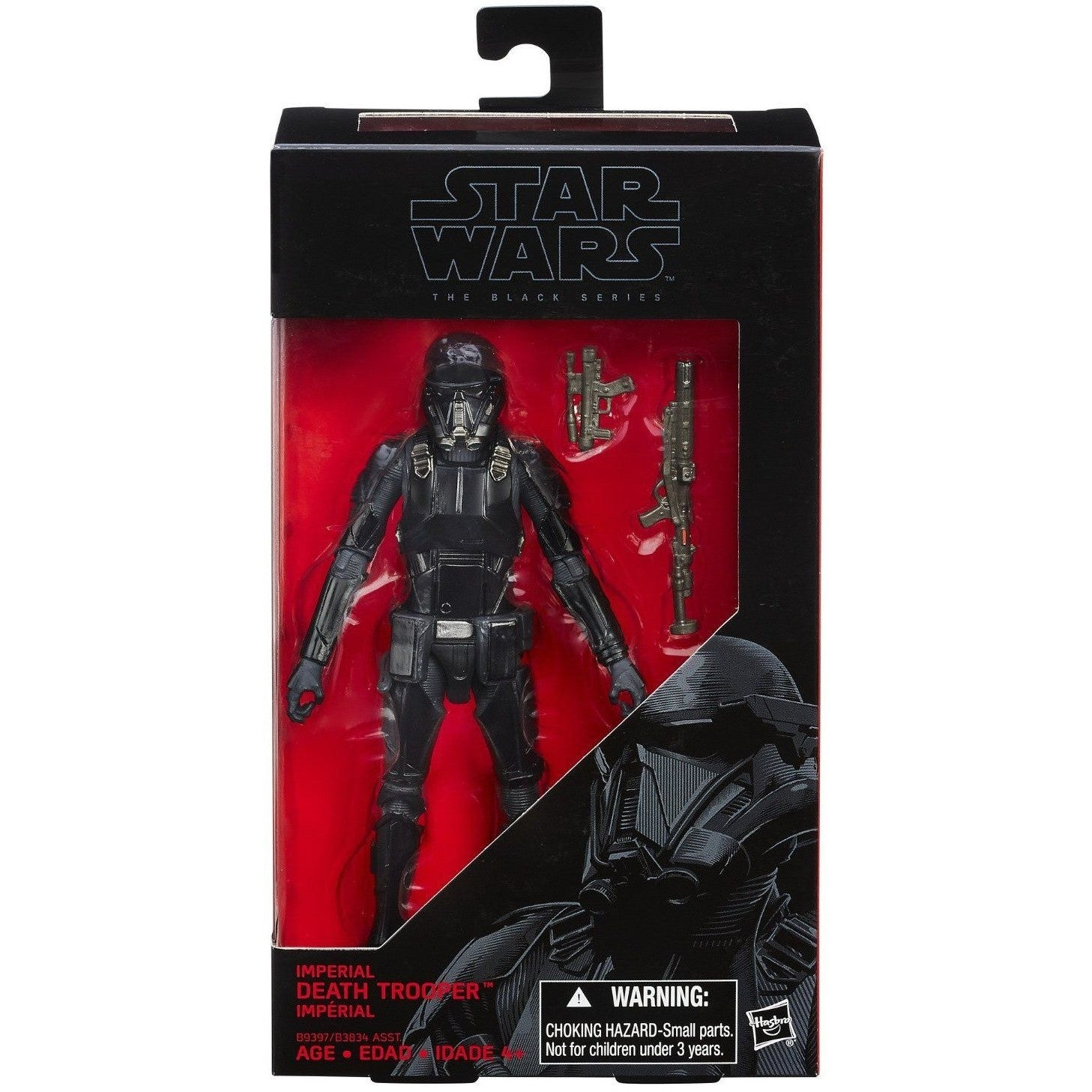 The Black Series Imperial Death Trooper Exclusive Action Star Wars Rogue One