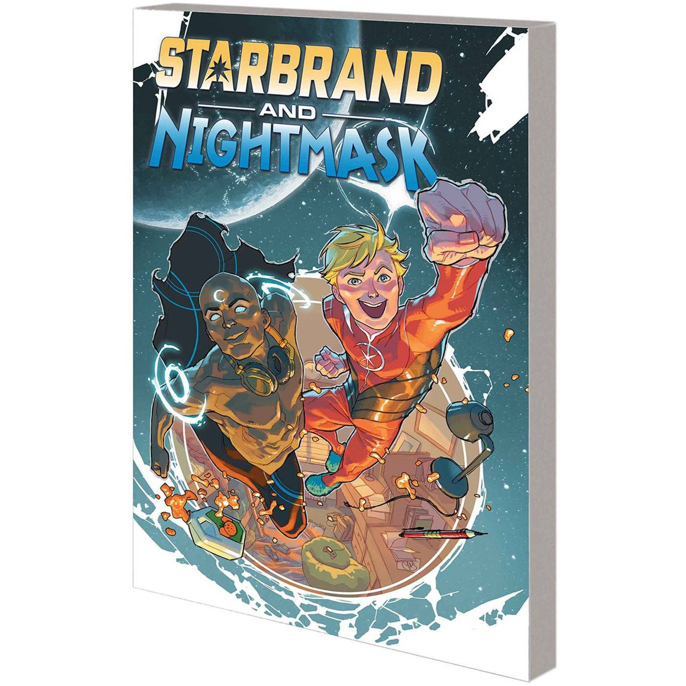 Starbrand and Nightmask: Eternity's Children (Attend University) TP Uncanny!