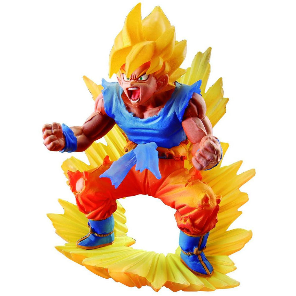 Dragonball Z Dracap Memorial Super Saiyan Son Gokou Figure