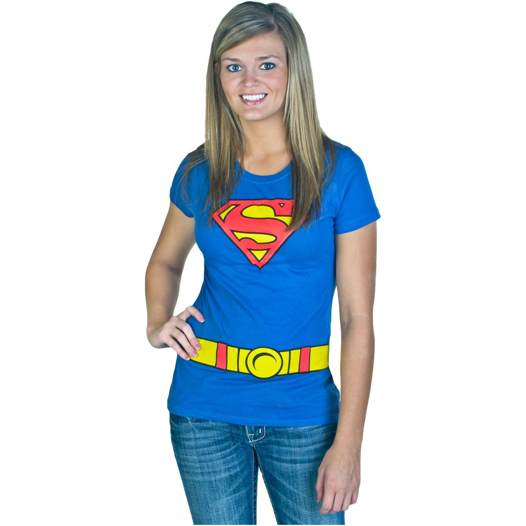 Supergirl Costume Shirt