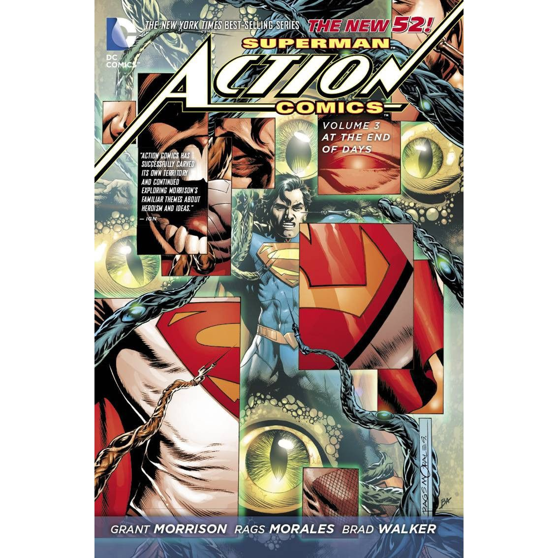 Superman: Action Comics: At the End of Days Vol. 3 HC Uncanny!